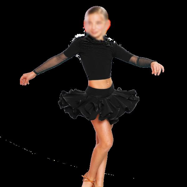 Как сшить юбку для тренировок по бальным танцам